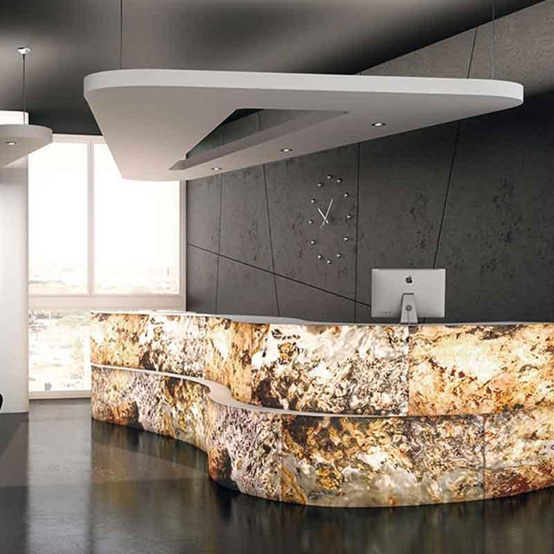 Proyecto de piedra natural flexible Anjasora