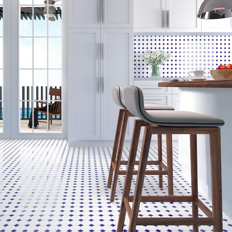 Azulejos y pavimentos para revestir cocinas Dune Oxford Blue | Terrapilar Alicante