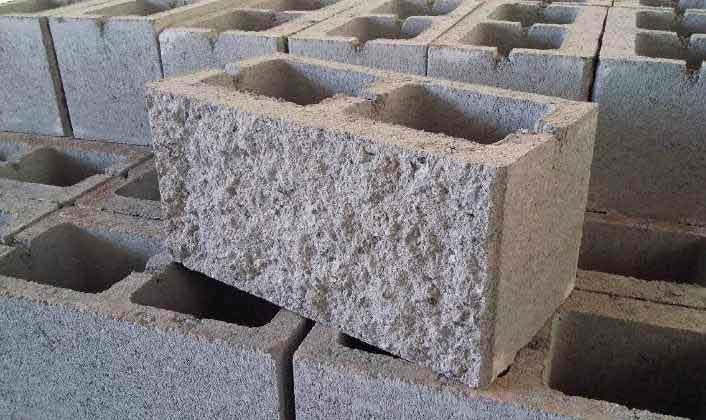 bloques de pared y fachada