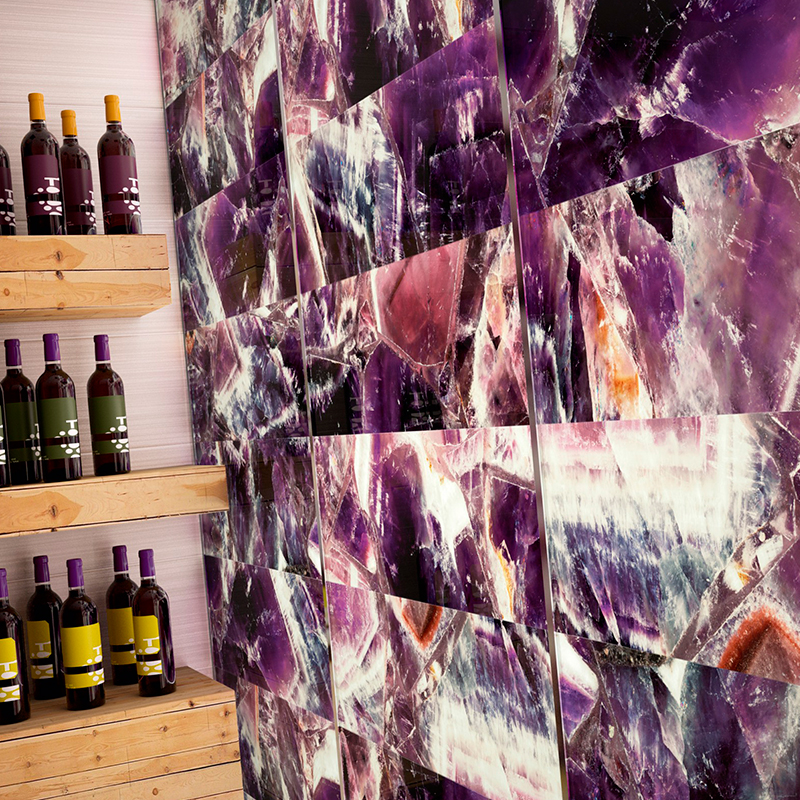 Azulejos y pavimentos para revestir cocinas | Dune Aura Amethlyst Glass