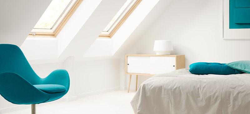 Velux ventana de tejado pequeña doble con marco en resina fijas | Terrapilar Alicante y Murcia