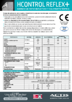 ACTIS – HControl Reflex + (Ficha Técnica)