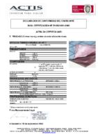 ACTIS – Triso Sols 13 capas (D.Prestaciones)