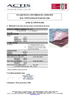ACTIS – Triso Sols 9 capas (D.Prestaciones)