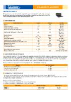 DANOSA – Impactodan 5mm (Ficha Técnica)