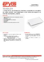 SOPREMA – Lámina acústica Texsilen (Ficha Técnica)