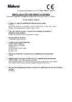 VALERO – TR-32 (D.Prestaciones)
