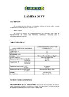 ASFALTEX – Tela Asfáltica LA-30-FV 60 (Ficha Técnica)