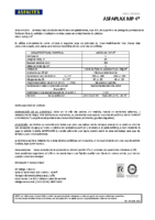 ASFALTEX – Tela Asfáltica LBM-40-FP APP 160 (Ficha Técnica)