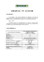ASFALTEX – Tela Asfáltica LBM-40-G-FV PZ GR APP 60 (Ficha Técnica)