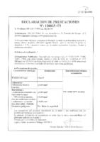 BRAVO – Cemento Cola Especial Blanco C1 TE (D.Prestaciones) (CP)