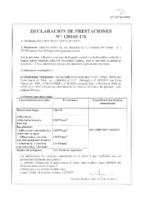 BRAVO – Cemento Cola Especial Porcelanico Blanco C1 TE (D.Prestaciones) (CP)