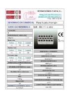 CAVA – Panal Acústico de Hormigón 50DB (Ficha Técnica)