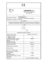 CERAMICA MORATAL – Termoarcilla 14 (CE)