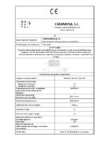 CERAMICA MORATAL – Termoarcilla 19 (CE)