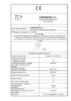 CERAMICA MORATAL – Termoarcilla 24 (CE)