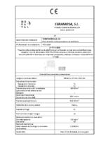 CERAMICA MORATAL – Termoracilla 29 (CE)