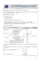 Cementos La Cruz – Cemento Gris I 52.5 R (D.Prestaciones)