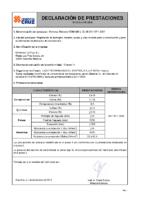 Cementos La Cruz – Cemento Gris II B-L 32,5 R (D.Prestaciones) 2015