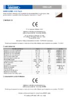 DANOSA – Lámina Drenaje + Geotextil Danodren H15 plus (Ficha Técnica)