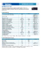 DANOSA – Tela Asfáltica LBM-40-FP APP 160A (Ficha Técnica)
