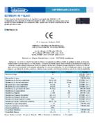 DANOSA – Tela Asfáltica LBM-48-FP 160 SBS (Ficha Técnica)