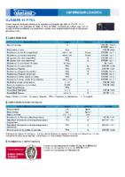 DANOSA – Tela Asfáltica LBM-40-FV APP (Ficha Técnica)