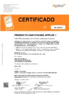 FUTURA SYST – Tubo PE corrugado EN-13476 (APPLUS)