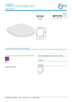 IDEAL STANDARD – Connect E712701 Asiento tapa soft (FichaTécnica)