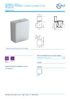 IDEAL STANDARD – Connect E797001 Deposito cubico alimentacion inferior (Ficha Técnica)