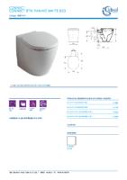IDEAL STANDARD – Connect E803401 Inodoro btw pan ho white bxd (FichaTécnica)