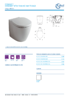 IDEAL STANDARD – Connect E803401 Inodoro btw pan ho white bxd (FichaTécnica)