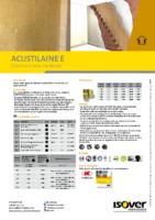 ISOVER – Acustilaine E (Ficha Técnica)