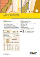 ISOVER – Acustilaine MD (Ficha Técnica)