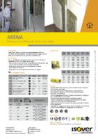 ISOVER – Arena 30-50-45-65 (Ficha Técnica)