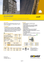 ISOVER – Ecovent (Ficha Técnica)