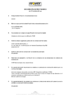 ISOVER – PV Acustiver (D.Prestaciones)