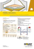 ISOVER – Panel solado L (Ficha Técnica)