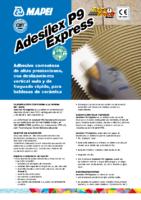MAPEI – Cemento Cola Adesilex P9 Express C2 FT (Ficha Técnica)