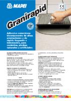 MAPEI – Cemento Cola Granirapid (Ficha Técnica)