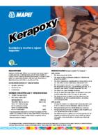 MAPEI – Junta Epoxi kerapoxy (Ficha Técnica)