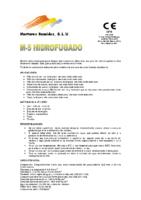 MORTEROS REUNIDOS – Mortero M5 HF (Ficha Técnica)