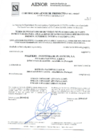 POLITEJO – Tubo PVC teja estruct sin presión EN-13476 (AENOR)