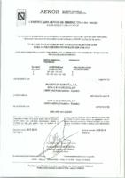 POLITEJO – Tubo PVC teja sin presión EN-1401 (AENOR)
