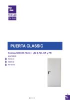 PUERTAS PADILLA – Puerta Cortafuegos Classic EI2 (Catálogo)