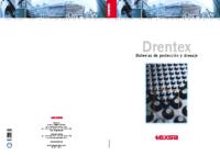 TEXSA – Láminas de Drenaje Drentex (Catálogo)