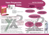 YESOS RUBIO – Yeso de Proyección Extra (Ficha Técnica)