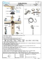 DIVA – Helena mm baño-ducha HL555 (Ficha Técnica)