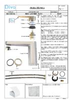 DIVA – Helena mm lavabo alto HL109 (Ficha Técnica)