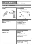 DIVA – Natura mm lavabo (Ficha Técnica)